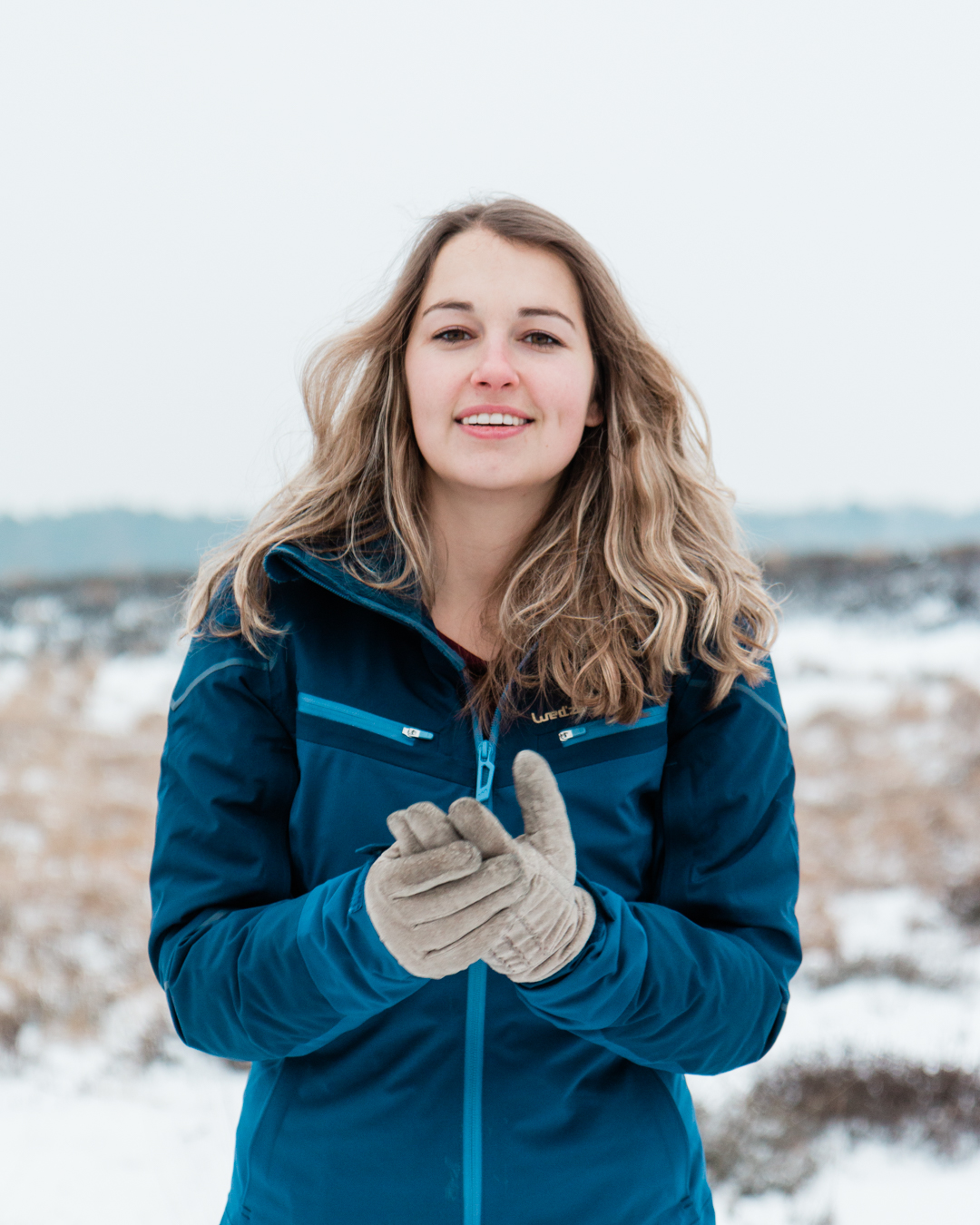 Daria in de sneeuw