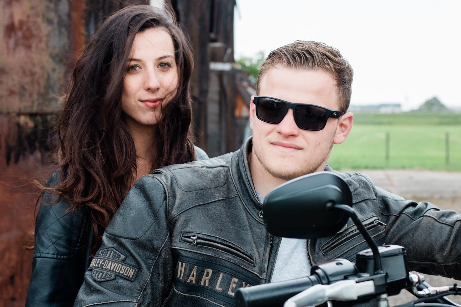harley davidson motor bike