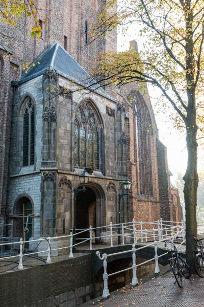 herfst oude kerk